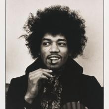 Jimi Hendrix, fotografiat de Linda McCartney, 1967