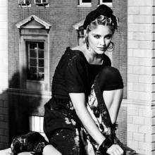 Madonna, fotografiată de Kate Simon, 1983
