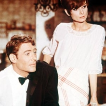 Audrey Hepburn & Peter O'Toole in How To Steal A Million, 1966