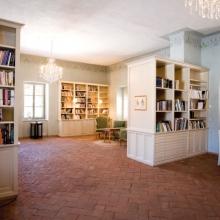 Bibliotecă, Conacul Apafi