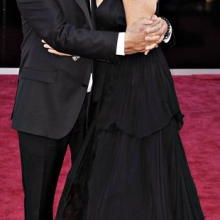 Dustin Hoffman și soția sa, Lisa Gottsegen