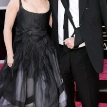Helena Bonham Carter și logodnicul său, Tim Burton