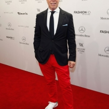 "BERLIN, GERMANY - JULY 09: Designer Tommy Hilfiger attends the award show ""Designer for Tomorrow"" by Peek & Cloppenburg Duesseldorf and Fashion ID as part of Mercedes-Benz Fashion Week Spring/Summer 2015 at Erika Hess Eisstadion on July 9, 2014 in Berlin, Germany. (Photo by Andreas Rentz/Getty Images for P&C & Fashion ID) *** Local Caption *** Tommy Hilfiger"