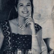 Grace Kelly, la Monte Carlo, dată necunoscută