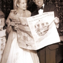 Grace Kelly și Cary Grant