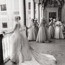 Grace Kelly și domnișoarele sale de onoare, 1956