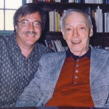 Lawrence Grobel and Saul Bellow