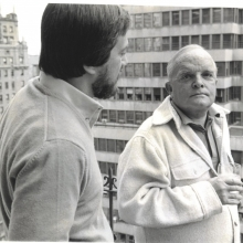 Lawrence Grobel and Truman Capote