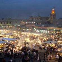 Marrakesh, Jemaa El-Fna