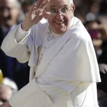 Papa Francisc, Piața San Pietro