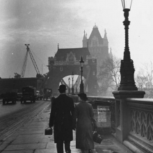 Tower Bridge, Londra, 1939