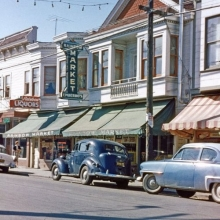 Larkspur, California, 1955