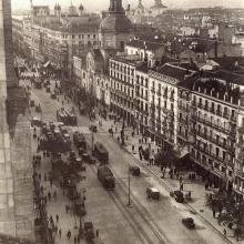 Madrid, începutul anilor 1900