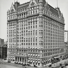 The Plaza Hotel, New York, 1912