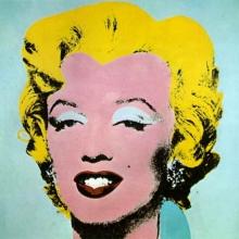 Marilyn Monroe, in viziunea lui Andy Warhol