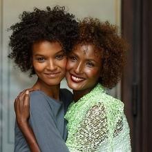 Waris Dirie și Liya Kebede