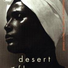 """Coperta cărții """"Desert Flower"""""""