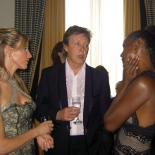 Waris Dirie și Paul McCartney