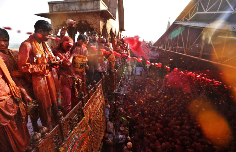 India Lathmar Holi Festival