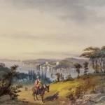 Batran si copil parasind Constantinopolul
