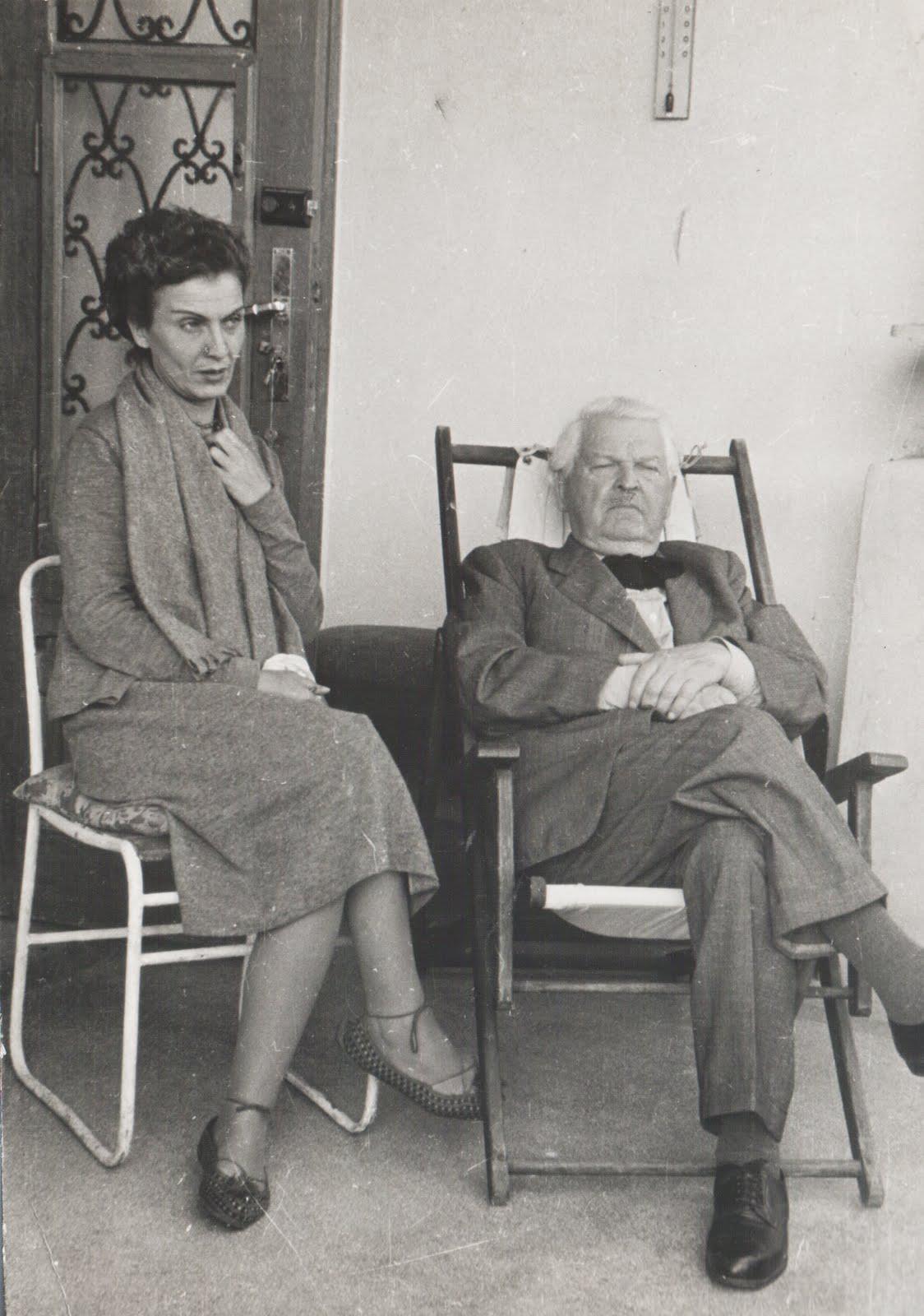 Sadoveanu Tanase 1956