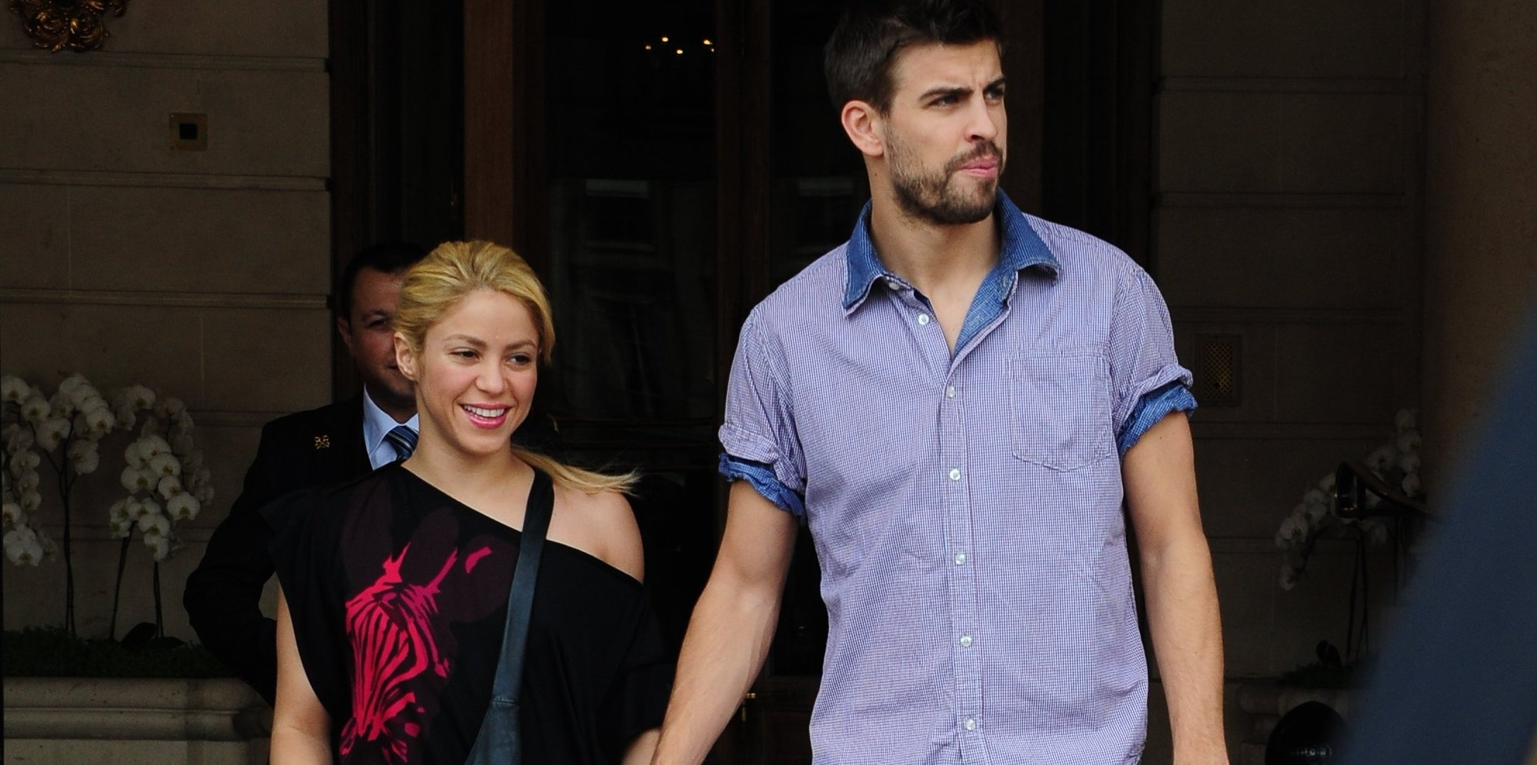 Shakira and Gerard Pique pictured - Paris
