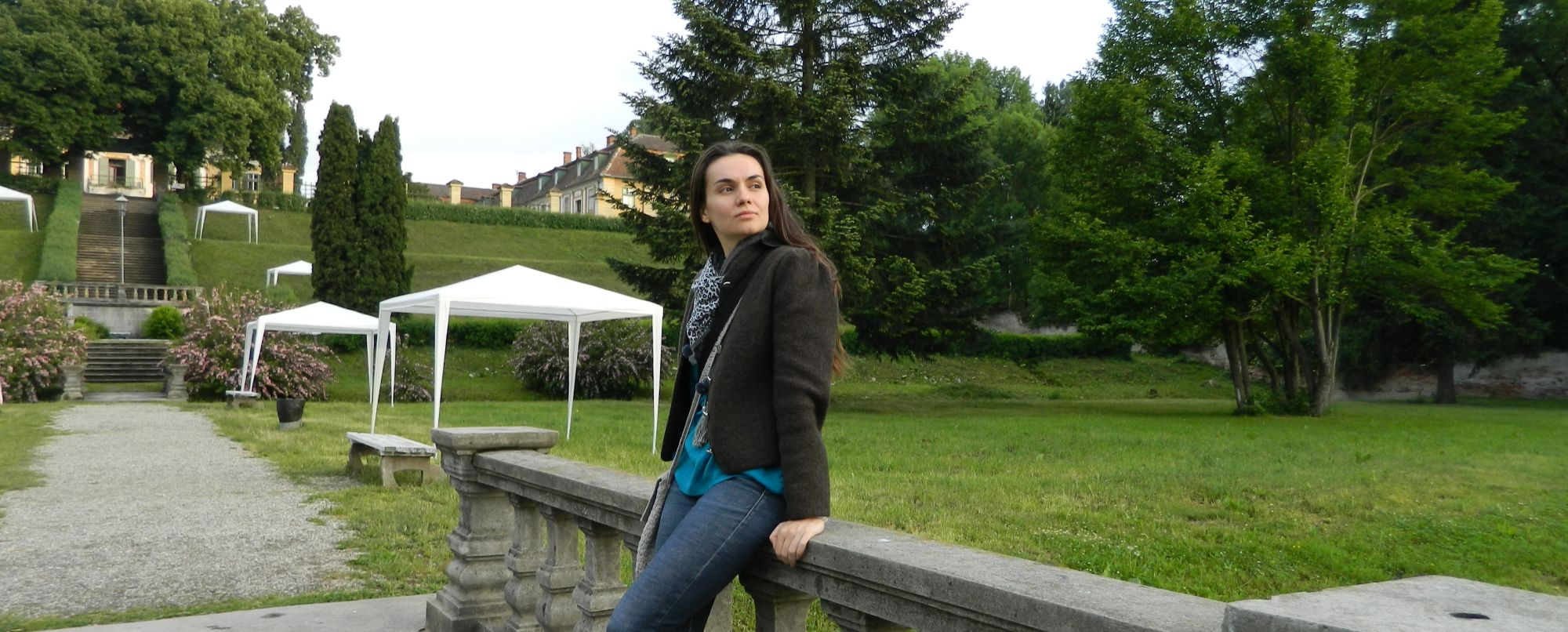 Stefania Nistoreanu, la Palatul Brukenthal