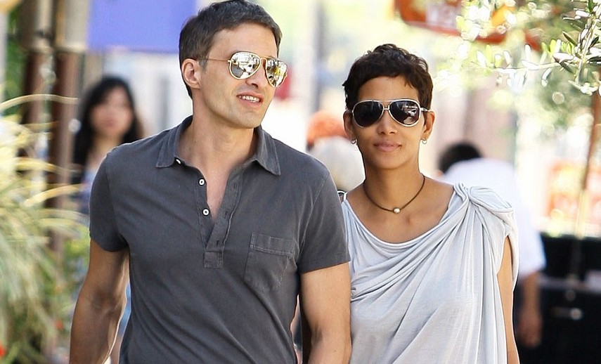 Halle Berry and Beau Olivier Martinez Spend The Day Out Together