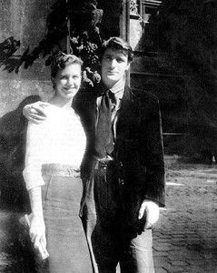 Sylvia Plath and Ted Hughes - 1950s