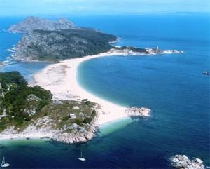 Las Islas Cíes, Galicia, Spain