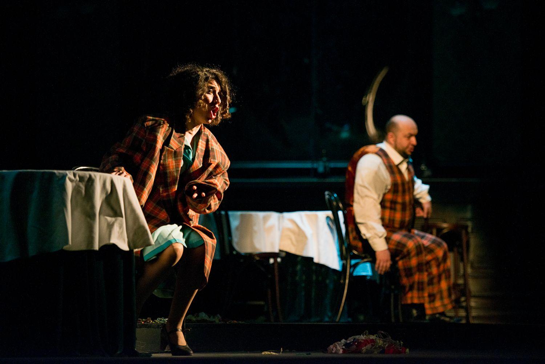 Soprana Shoushik Barsoumian si baritonul Lucian Petrean, Rigoletto