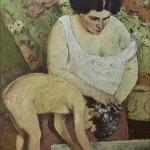 """""""Lăutul"""", de Ştefan Luchian, la Muzeul K.H. Zambaccian"""
