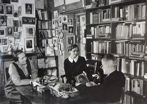 James Joyce Sylvia Adrienne
