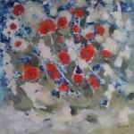 """""""O viziune a culorilor"""": expoziție a pictoriței Andreia Gliga, la Galeriile BMR"""