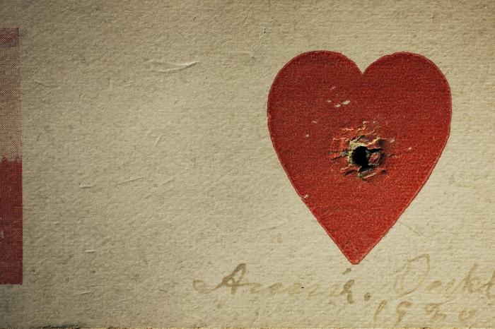 Annie Oakley Heart