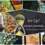 Art Up! Couture Painting Collection: colaborare inedită între Carmen Burtea și Cristi Martin