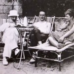 Constantin Brâncuși, Marcel Duchamp și Mary Reynolds, pe Riviera Franceză