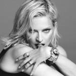 Madonna a redevenit imaginea casei de modă Versace