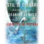 Stil și culoare în artă: expoziție de pictură Geanina Sfintes