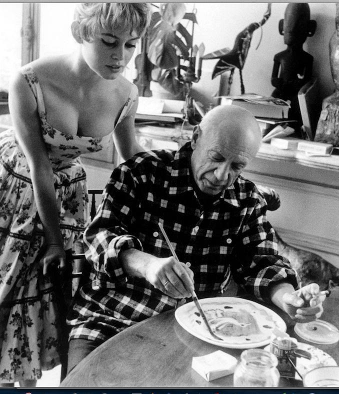 Brigitte Bardot Pablo Picasso