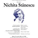 Seară de poezie și muzică dedicată lui Nichita Stănescu