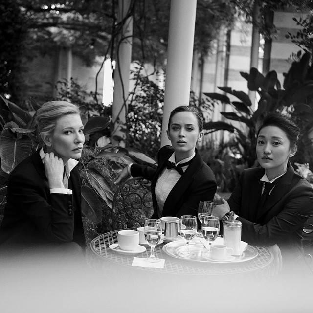 Cate Blanchett, Emily Blunt & Zhou Xun