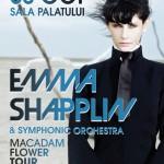 Emma Shapplin concertează la Sala Palatului din Bucureşti