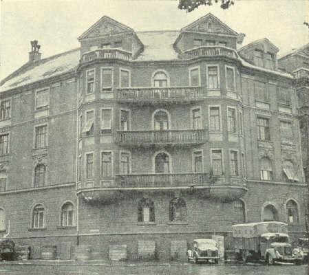 Apartamentul in perioada nazista