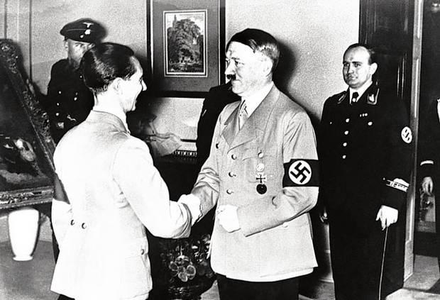 Goebbels Hitler