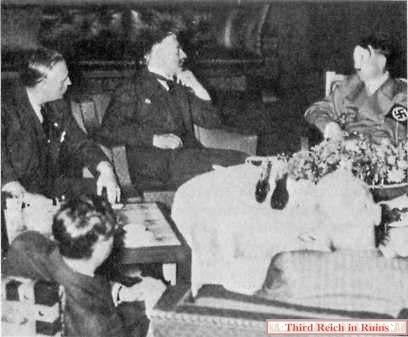 Hitler Chamberlain Ribbentrop