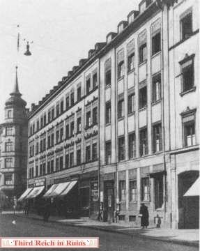 Sediul Partidului Nazist
