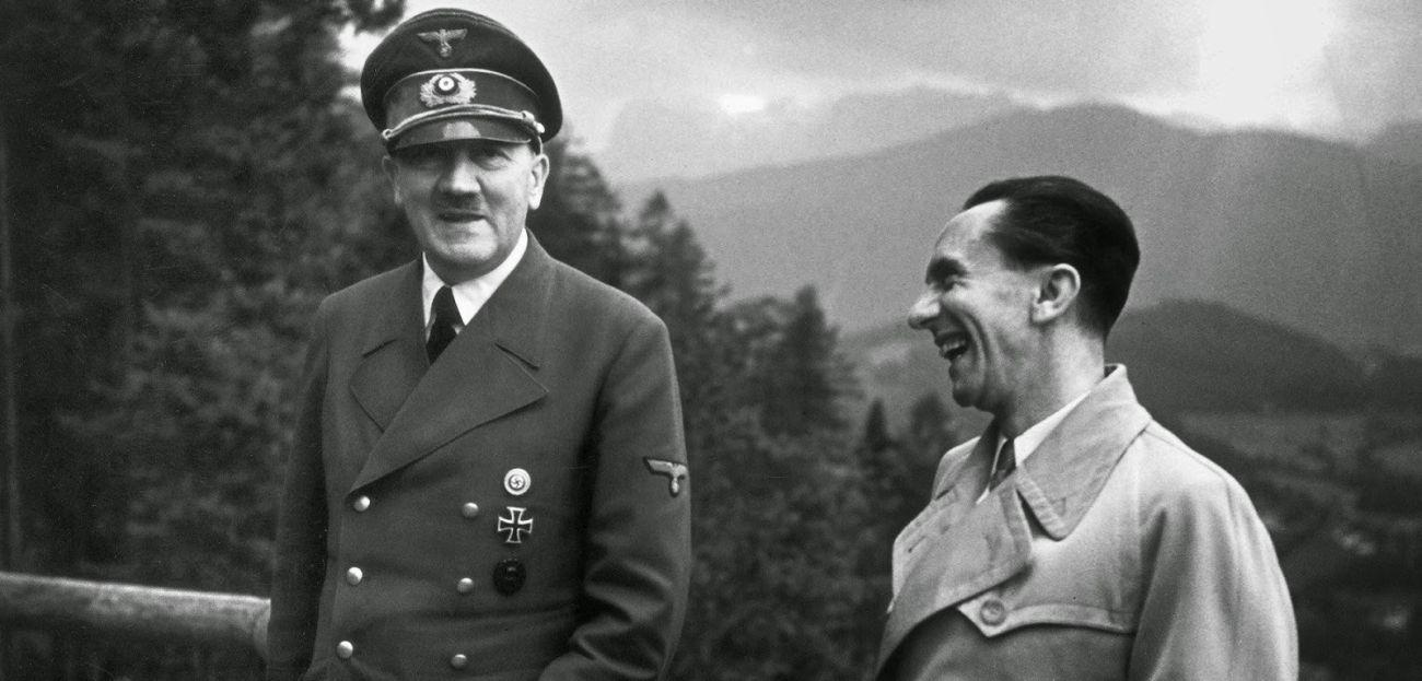 Adolf Hitler Joseph Goebbels