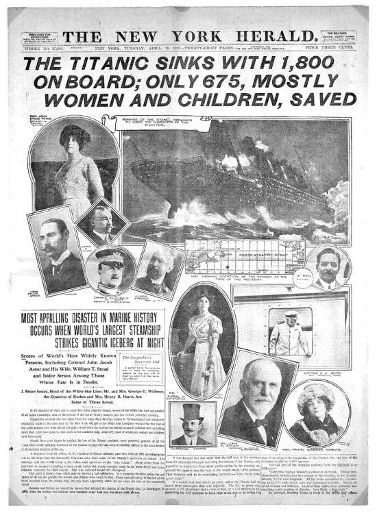 Titanic Presa