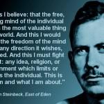 Un gând: John Steinbeck